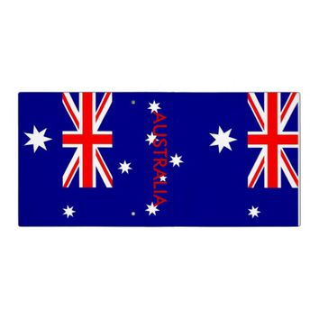 Binder with Flag of Australia