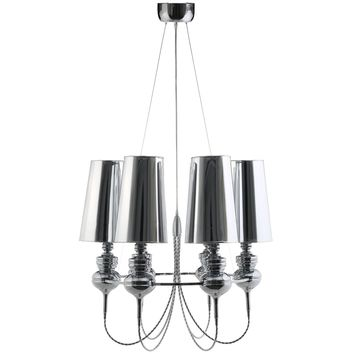 Tapestry Stainless Steel Chandelier