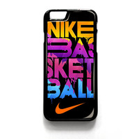 Nike Basketball Never Stop iPhone 4 4S 5 5S 5C 6 6 Plus , iPod 4 5  , Samsung Galaxy S3 S4 S5 Note 3 Note 4 , and HTC One X M7 M8 Case