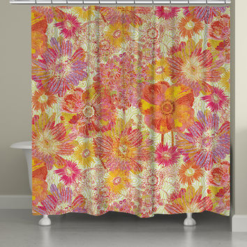 Persian Nights Shower Curtain From Laural Home