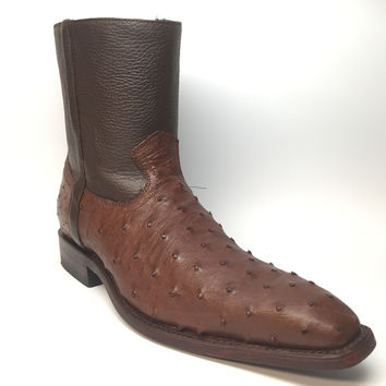 Los Altos Ostrich Dressy Boot