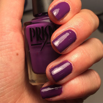 Plum Pudding- Purple Creme Handmade Indie Nail Polish