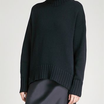 JOSEPH - Sloppy Joe knitted sweater | Selfridges.com
