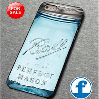 perfect mason jar ball bottle for iphone, ipod, samsung galaxy, HTC and Nexus Phone Case