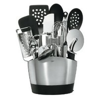 OXO Good Grips 15-Piece Everyday Kitchen Tool Set