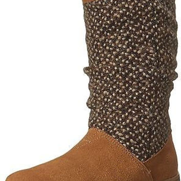 Toms Serra Boot Brown Sugar Suede Textile 10006220 Womens 8.5