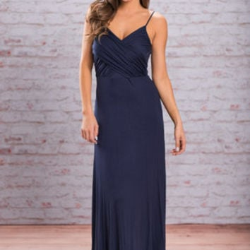 Cross It On Over Maxi Dress, Navy