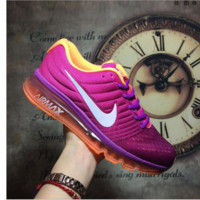 """NIKE"" The new lightweight mesh running shoes sneakers Roses"
