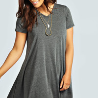 Clea V Neck Swing Dress