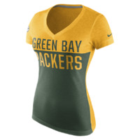 Nike Home and Away V-Neck (NFL Packers) Women's T-Shirt