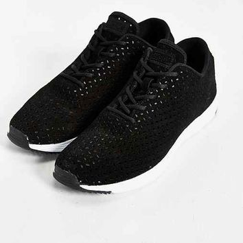 Ransom Field Lite Perforated Sneaker- Black & White