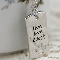 Perfect Necklace for Dog Lover Shelter Volunteer #9A