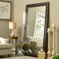 Black Framed Mirror, 46x76 | Kirklands