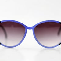 NEW Vintage French Womens Sunglasses // Made in France // Oversized Specs - 70s