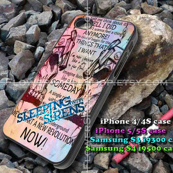 sleeping liryc song iphone case, iphone 4/4S, iphone 5/5S, iphone 5c, samsung s3 i9300, samsung s4 i9500, design accesories