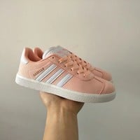 """""""Adidas"""" Women Sport Casual Multicolor Stripe Plate Shoes Fashion Sneakers"""
