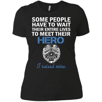police officer's mom matching family T-Shirt