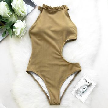 Ruffles One-Piece Swimsuit