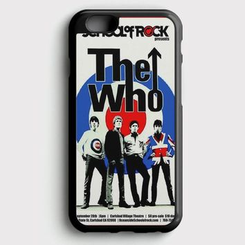 The Who Vintage Poster iPhone 6/6S Case | casescraft