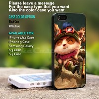 Teemo League of Legends - For iPhone 5 Black Case Cover