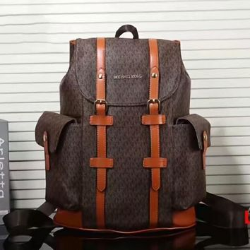 MK Fashion Leather Daypack Travel Bag School Bag Bookbag Backpack G-LLBPFSH
