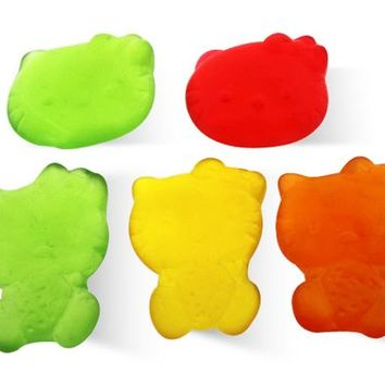 Gummi Worm Min Halloween - Firm, Assorted - Albanese - Usa - 3 oz