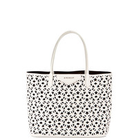 Givenchy Antigona Small Star Perforated Shopping Tote