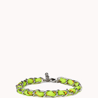 Chain Woven Friendship Bracelet