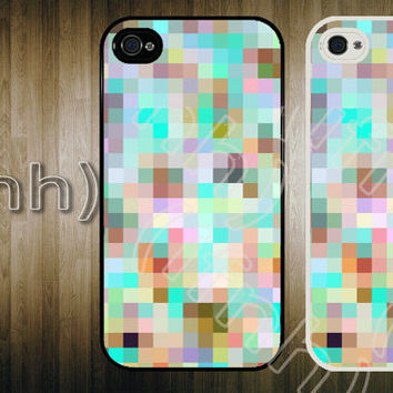 iPhone Case Geometric Pattern iPhone 4 Colorful Case