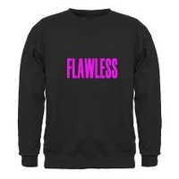 FLAWLESS-WOKE UP LIKE THIS Sweatshirt> New Section> Taglines-sell-buy-create-unique-Tshirts