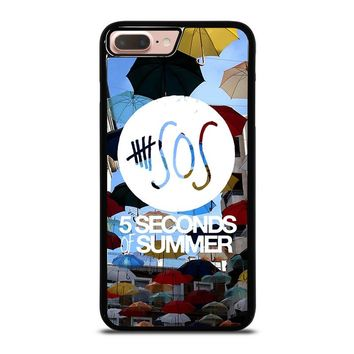 5 SECONDS OF SUMMER 4 5SOS iPhone 8 Plus Case Cover