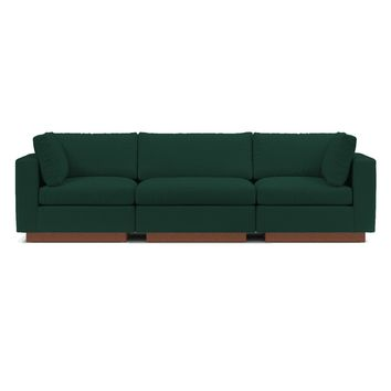 Taylor Plush 3pc Modular Sofa