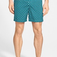Men's Original Penguin Print Volley Swim Trunks