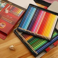 Mondeluz Art colored pencils 72 Colors Drawing Sketches Mitsubishi Watercolor Pencil School Supplies Secret Garde Pencil