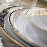 Philippe Deshoulieres Orleans Dinnerware - 5 piece place setting