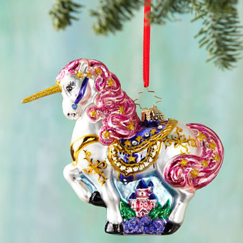 Christopher Radko Fairytale Magic Christmas Ornament