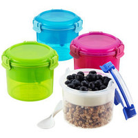 The Container Store  Klip-It Breakfast-to-Go