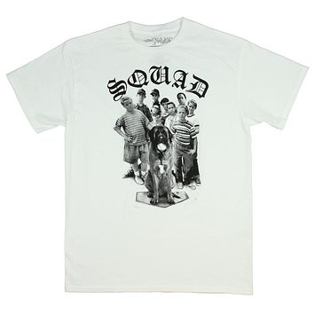 The Sandlot Men's SQUAD Group Photo Licensed T-Shirt