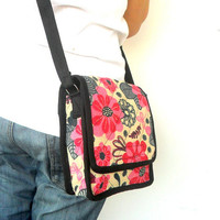 Crossbody Bag Messenger Bag Bohemian Bag Multicolor Boho Bag Handmade Everyday Bag Purse Hippie Hobo Bag Thai Gift bag