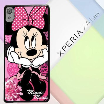 Minnie Mouse C0138 Sony Xperia XA1 Ultra Case