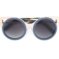 Linda Farrow Gallery Round Frame Sunglasses - Julian Fashion - Farfetch.com