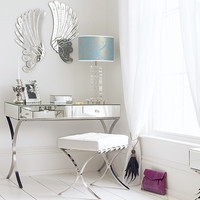 Barcelona Mirrored Dressing Table, Dressing Tables | Graham and Green Bedroom