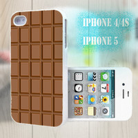 unique iphone case, i phone 4 4s 5 case,cool cute iphone4 iphone4s 5 case,stylish plastic rubber cases cover, funny  case  chocolate p1050