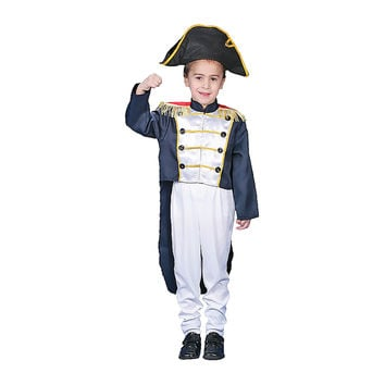 Colonial General Dress Up Costume Set - Small 4-6
