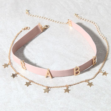 LA Hearts Babe Choker Pack at PacSun.com