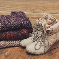 Northern Heights Booties - Taupe