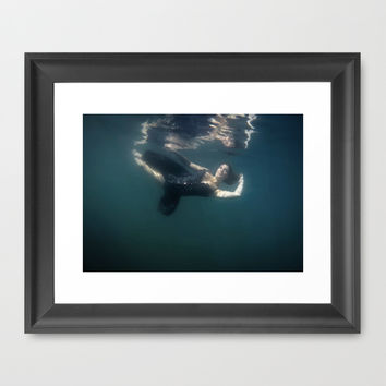 Lucid State Framed Art Print by Nicklas Gustafsson