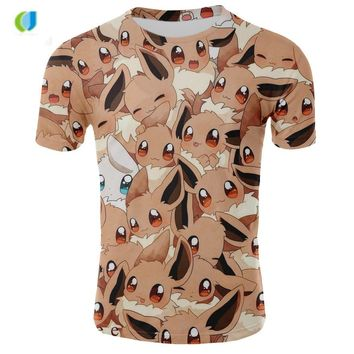 3d t shirt  Pikachu oversized t shirt for men women and pikachu mascot Tops cute costume funny t shirtsKawaii Pokemon go  AT_89_9