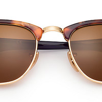 Ray-Ban RB3016 1160 49-21 CLUBMASTER FLECK Havana sunglasses | Germany Offizielle Online-Shop