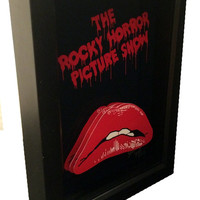 The Rocky Horror Picture Show Movie Poster Art 3D Pop Artwork